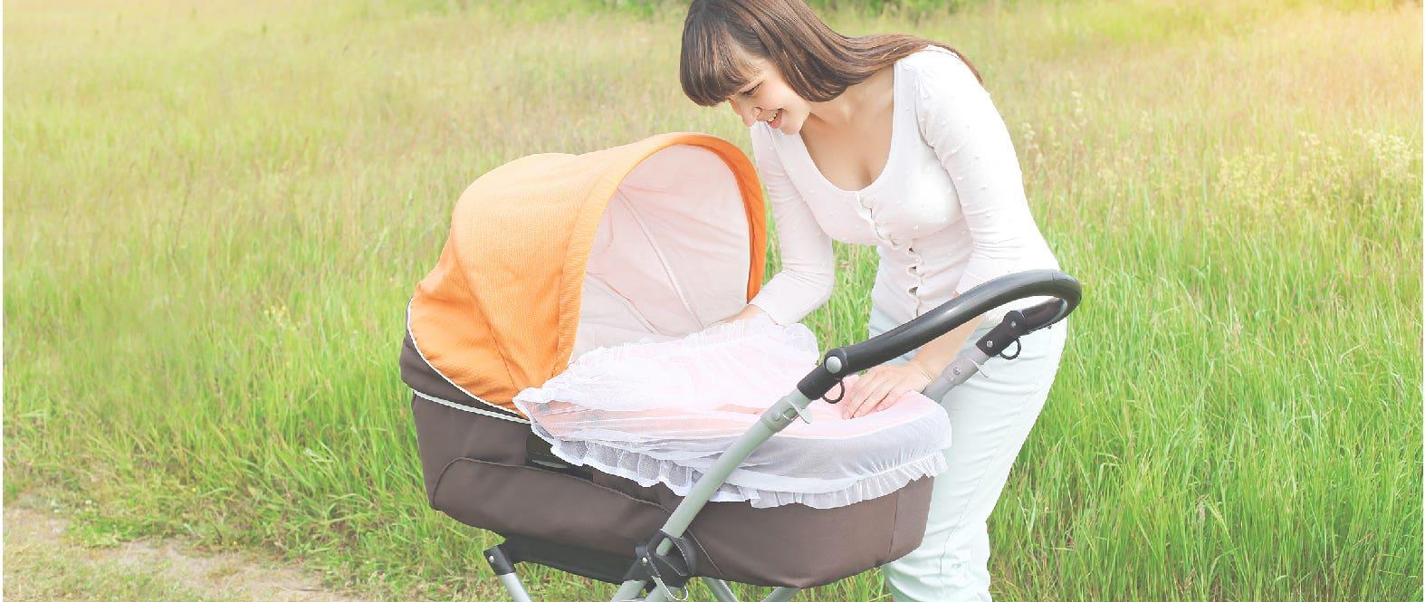 Recién nacido: ¿Cuándo puedo sacarlo a pasear?