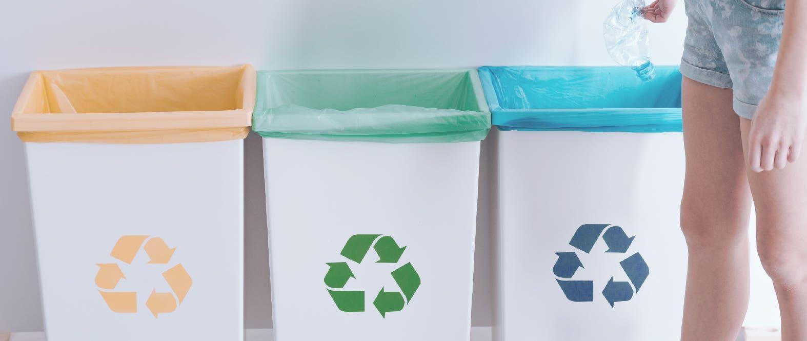 ¡Conoce los colores de clasificación del reciclaje!