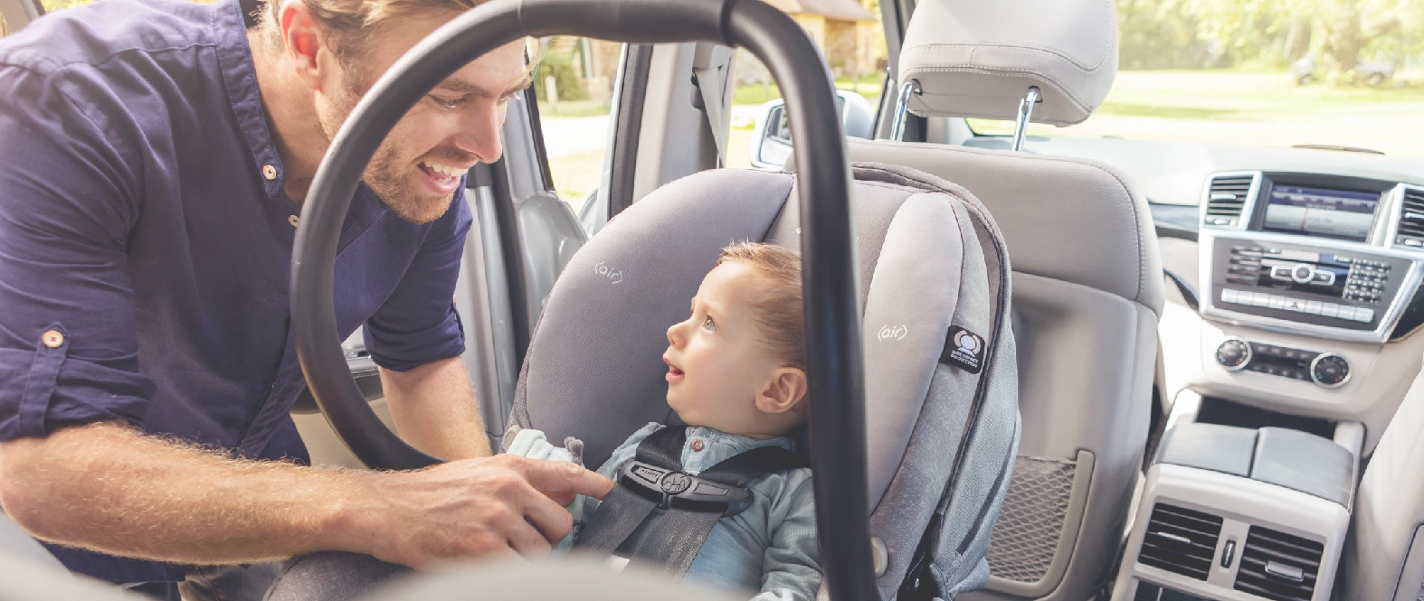 Ley de sillas/sistema de retención infantil: ¿Qué dice?
