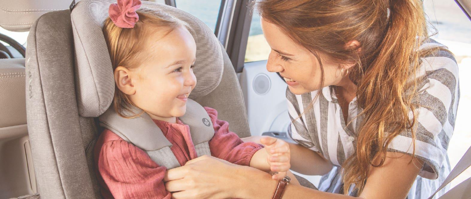 ¿Por qué debo llevar a mi hijo en una silla de autos?
