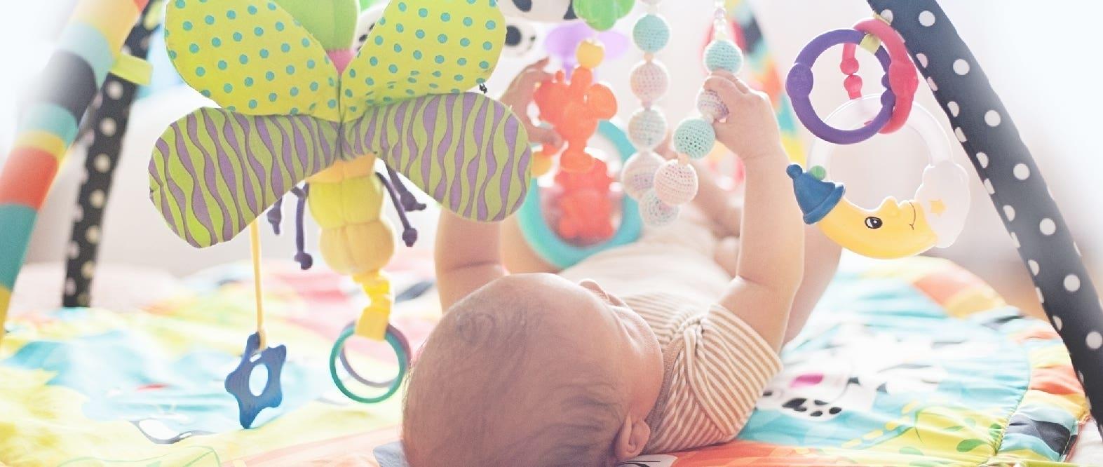 Cómo estimular visualmente a tu bebé