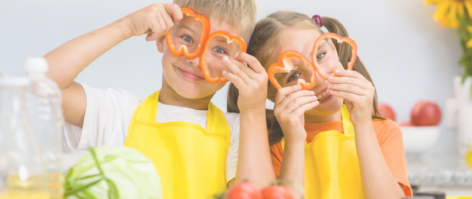 Ideas para que tus niños coman sus legumbres y vegetales