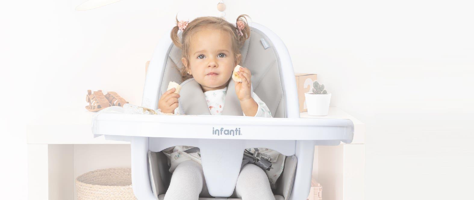 Cómo elegir la silla de comer correcta para mi bebé