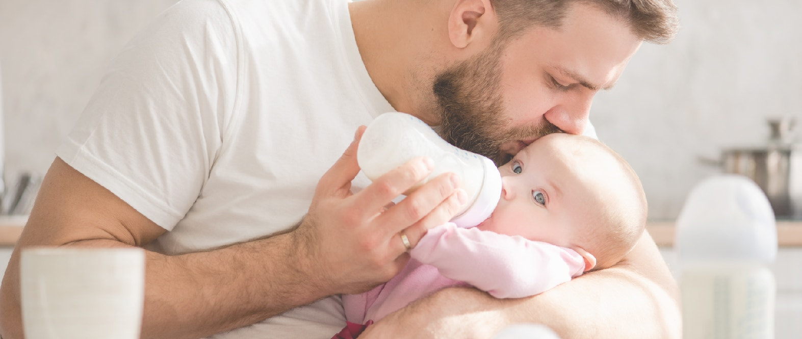 ¿Cómo trabajar el vínculo del padre con el bebé?
